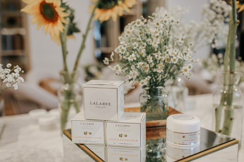 "「LALABEE」の""The Calm and Rescue Balm""イメージ"